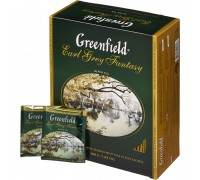 Чай черный Greenfield Earl Grey Fantasy (100 х 2 гр)
