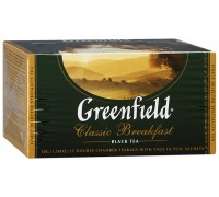 Чай черный Greenfield Classic Breakfast (25 пак*2 гр)