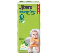 Подгузники Libero Everyday (5) XL 11-25 кг (56 шт)