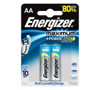 Батарейка Energizer Maximum AA LR6 B2 637451
