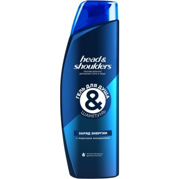 Гель-шампунь Head & Shoulders Заряд энергии (360 мл)